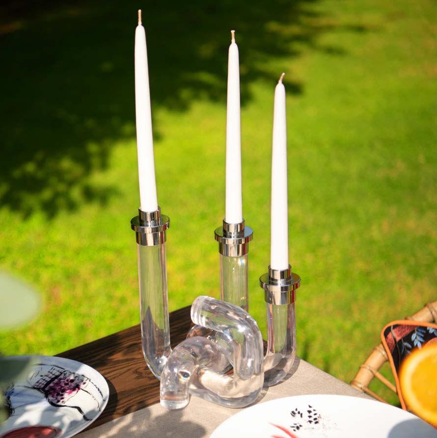 The Acrylic Candleholder
