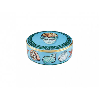 Il Viaggio Di Nettuno Round box with cover
