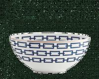 وعاء بيضاوي سلاسل الياقوت, small