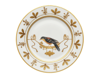 Soup Plate Volière Cou Jaune, small