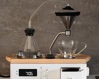 Coffee Alarm Clock White, small