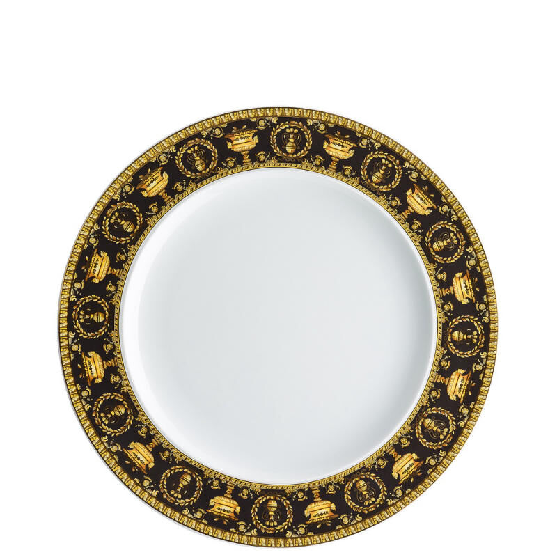 Baroque Nero Plate, large