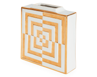Futura Square Vase, small