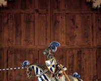 Medieval Knight Sculpture. Limited Edition, small