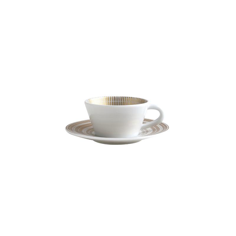 فنجان قهوة  و صحن  كانيس, large