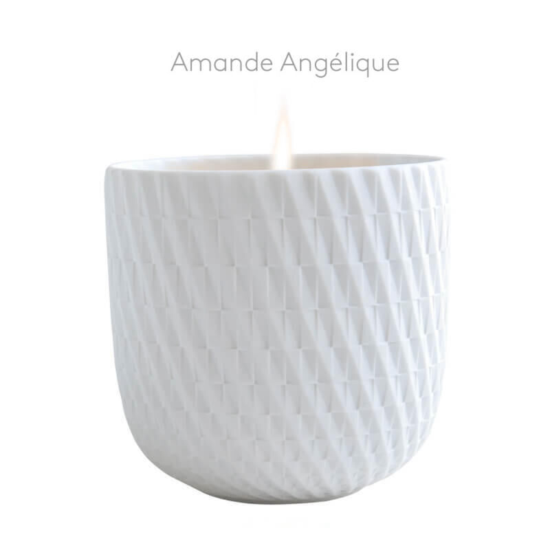 """""""Angelic Almond"""" Refillable Candle Tumbler, large"""