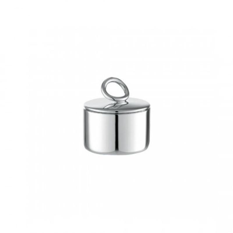 Vertigo Silver Plated Sugar Bowl, large