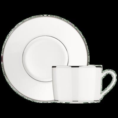 ALBI PLATINE TEA CUP SAUCER