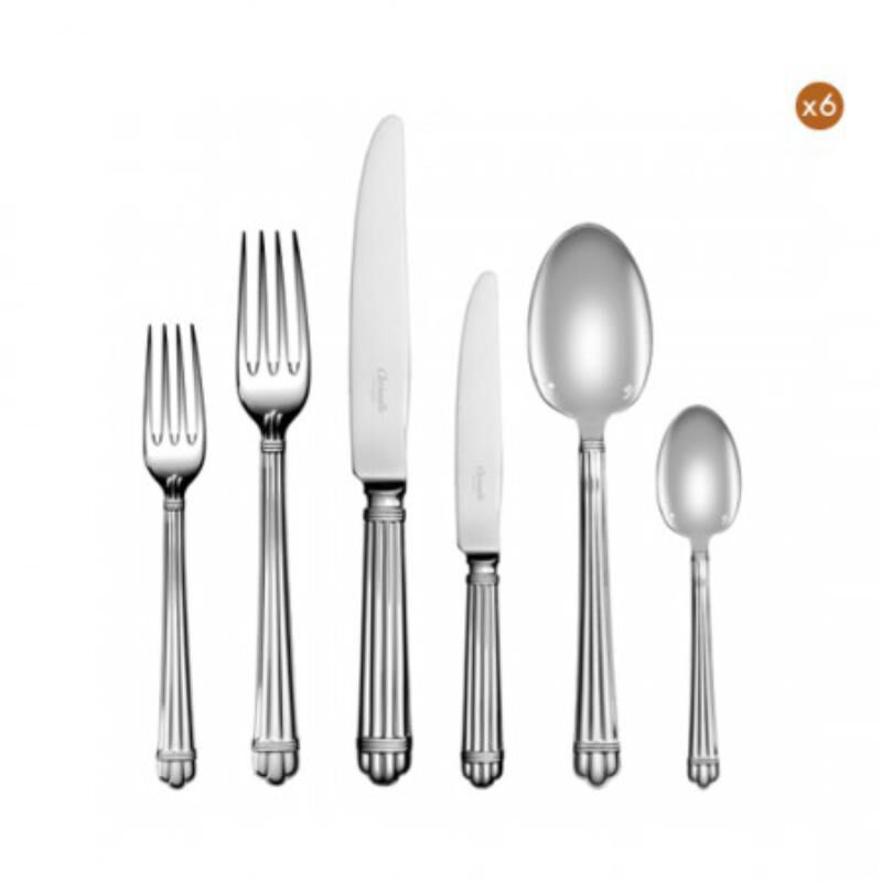 Aria Flatware Set For 12 People (75 Pieces), large