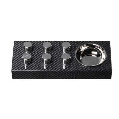 Egoist ashtray in Carbon