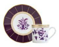 Prunus. Coffee Cup And Saucer, small