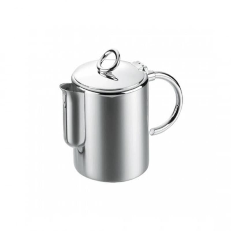 فيرتيجو ابريق الشاي\ القهوة مطلية بالفضة, large