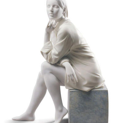 In My Thoughts Woman Figurine