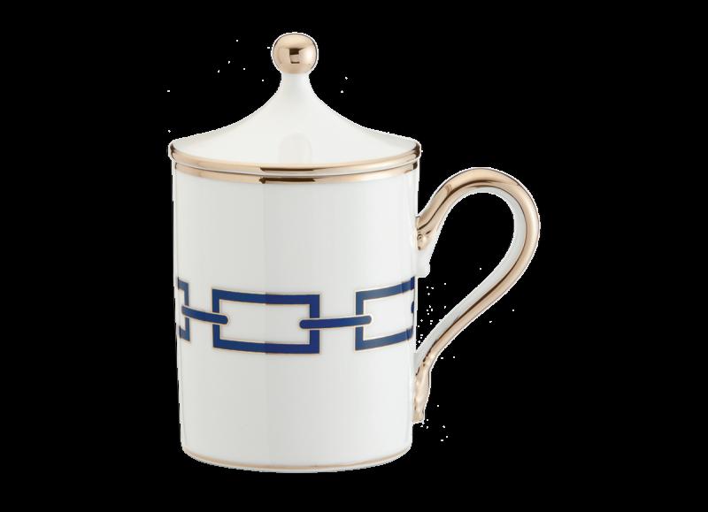 Mug With Cover Catene Zaffiro, large