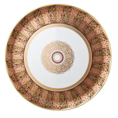 Eventail Round Tart Platter