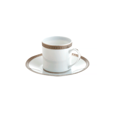 Malmaison Platine coffee Cup & Saucer