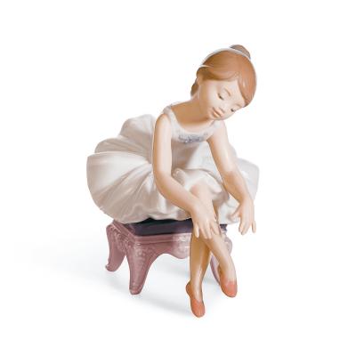 Little Ballerina Girl Figurine