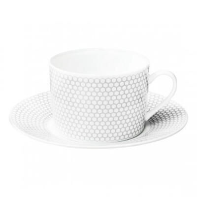 MADISON 6-Porcelain Tea/ Coffee Cup and Saucer