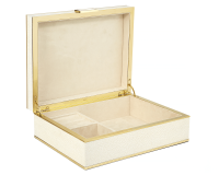 Shagreen Jewelry Box, small