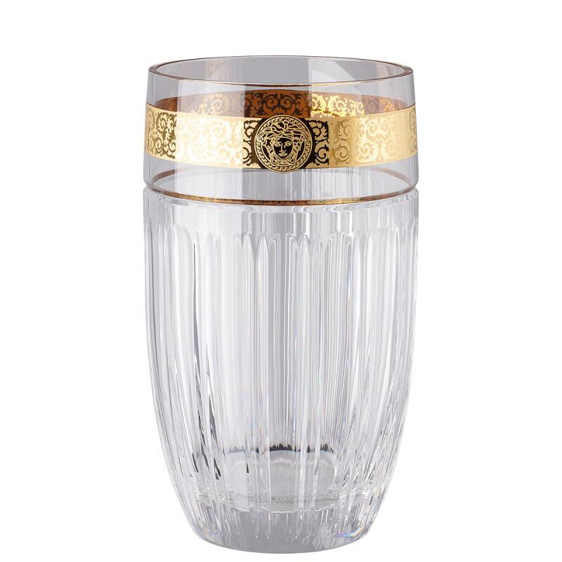 Gala Prestige Clear Medusa Vase, large