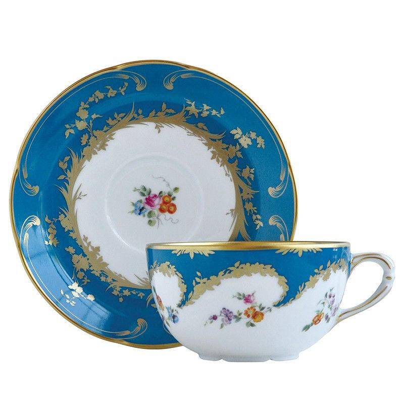 Siecle Tea Cup And Saucer, large