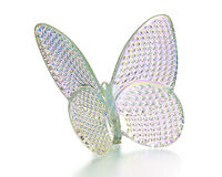 Papillon Butterfly Diamant Iridescent, small