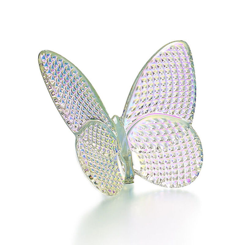 Papillon Butterfly Diamant Iridescent, large