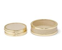Colette Croc Leather Coasters Set, small