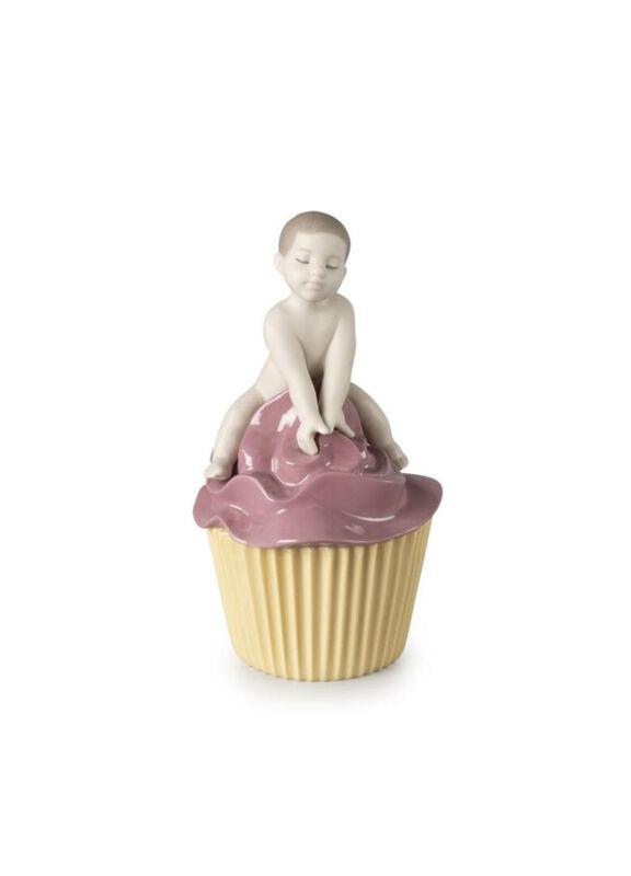 My Sweet Cupcake. Boy Figurine, large