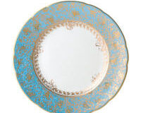 Eden Turquoise Salad Plate, small