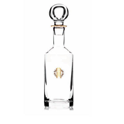 Monogramma Gold Decanter