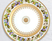 Botanique Dinner Plate Morning Glory, small