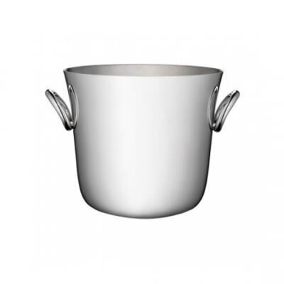 Vertigo Silver Plated Ice Bucket