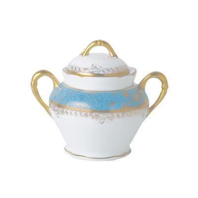Eden Turquoise Sugar Bowl