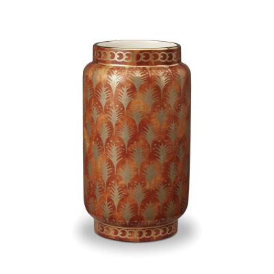 Fortuny Vase Piumette Orange Medium