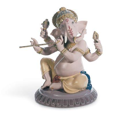 Bansuri Ganesha Figurine