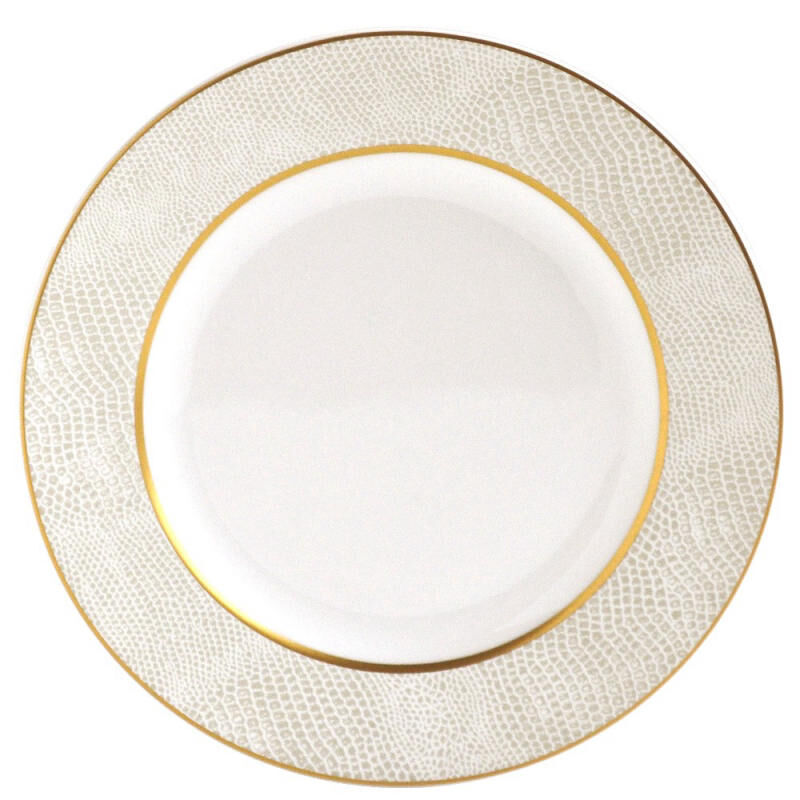Sauvage Blanc Bread And Butter Plate, large