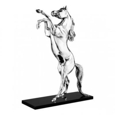 Rearing Arabian Horse Sculpture
