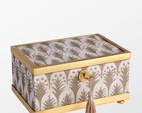 صندوق فورتشن بيوميت ابيض + ذهبي - صغير, small