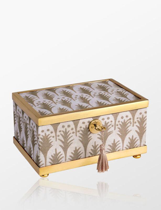 صندوق فورتشن بيوميت ابيض + ذهبي - صغير, large
