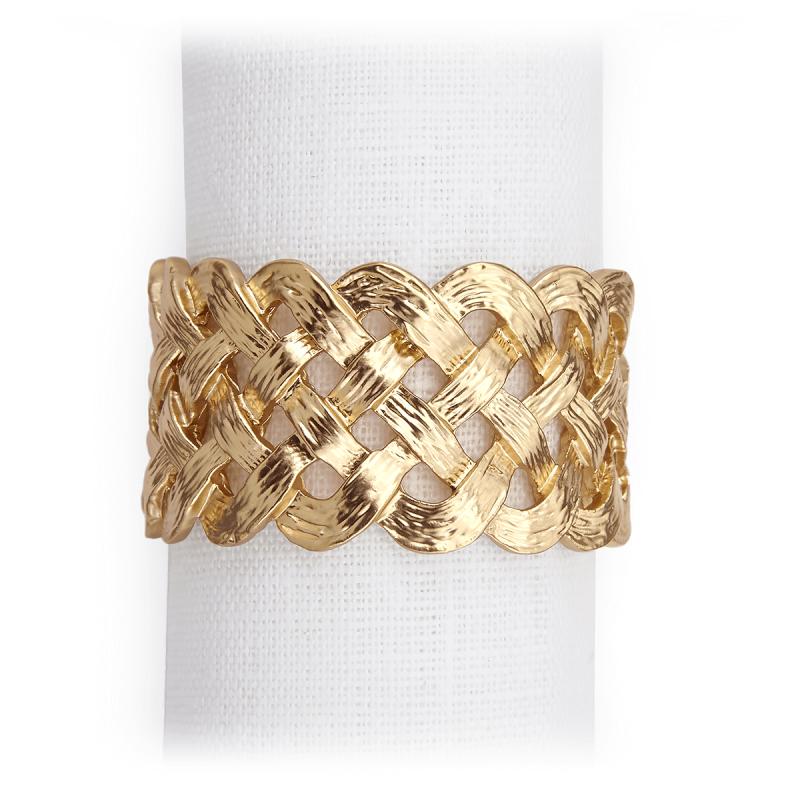 Napkin Rings - Set Of 4, large