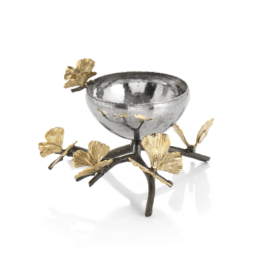 Butterfly Ginkgo Nuts bowl