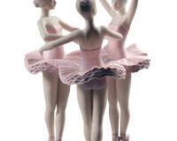 Our Ballet Pose Dancers Figurine, small
