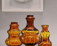 Passion Vaso In Cristallo Cognac, small