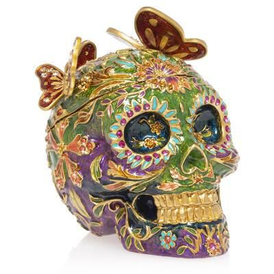 Rivera - Skull with Butterflies Box