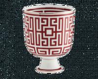 Vase Labirinto Scarlatto, small
