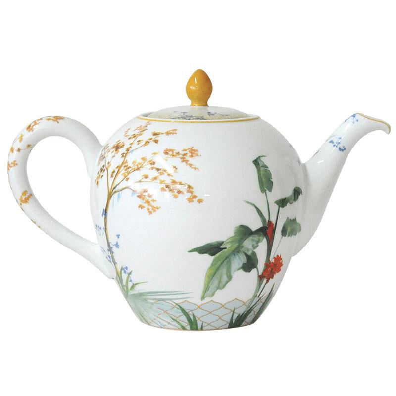 Tropiques Tea Pot, large