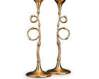 مجموعة شموع ايفوكا الذهبية من قطعتين, small