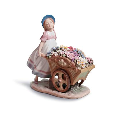 Love's Tender Token Girl Figurine