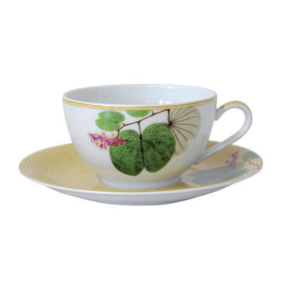 JARDIN INDIEN SET OF 2 CUP & SAUCER
